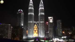 Видео путешествия в деталях.Азия.288.Petronas Twin Towers из Traders Hotel.Malaysia.(, 2014-11-02T00:06:59.000Z)