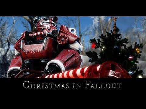 Fallout 4 Christmas Mods - Winter Wonderland, Xmas Trees & Santa ...