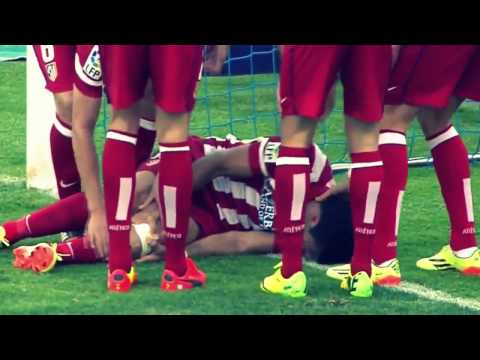 Diego Costa Terrible Injury after Goal vs Getafe Getafe vs Atletico Madrid 0 2 2014