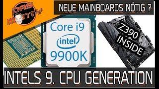 Neue Mainboards mit Z390 für Intel Core i9 9900K nötig? - Roadmap zu Icelake aufgetaucht | DasMonty