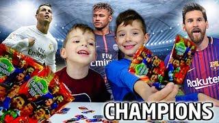 Φακελάκια με Αστέρια Champions Μεταλλικές Τάπες Ποδοσφαίρου 2018 CHALLENGE