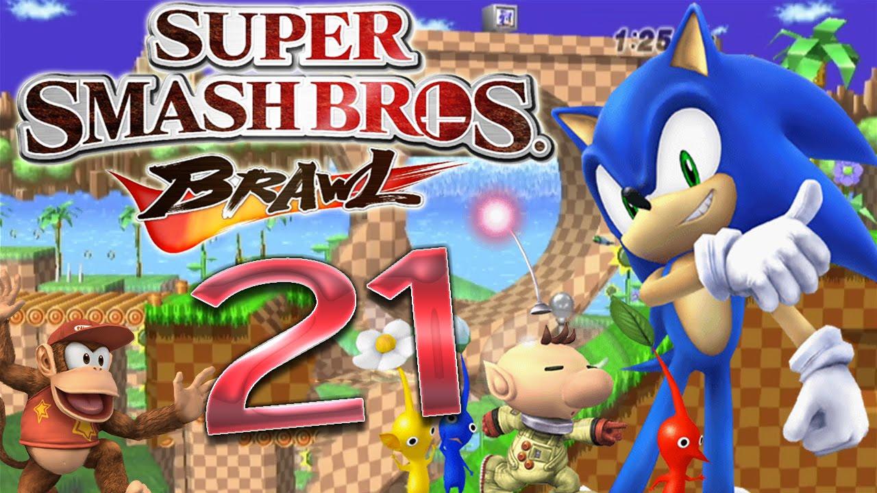 Let\'s Play Super Smash Bros. Brawl Part 21: Die Missionen 21 bis 30 ...
