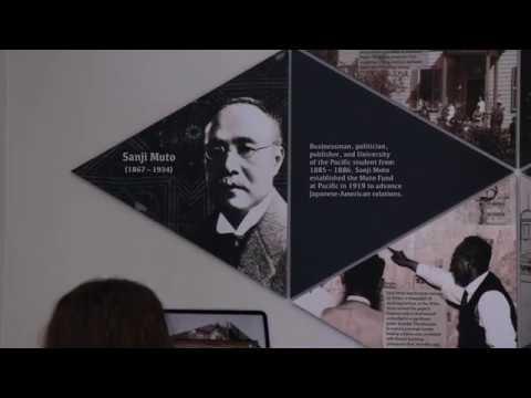 Hanami: Interactive Art Display, University of the Pacific Libraries