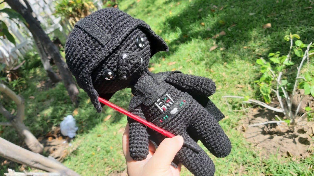 Darth Vader Star Wars Amigurumi Nuevo Diseño Youtube