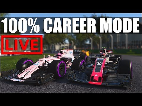 F1 2017 - 100% Distance Career Mode | Round 15: Sepang (42k Today?)