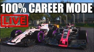 F1 2017 - 100% Distance Career Mode | Round 15: Sepang (42k Today?)