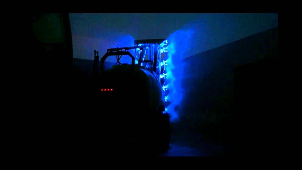 Comatra Blue Led Sprayer Lighting System Youtube