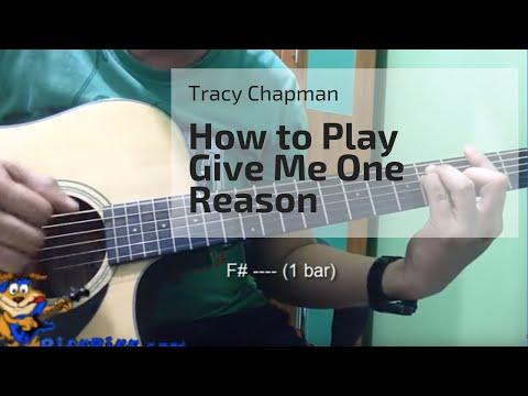 How To Play Give Me One Reason By Tracy Chapman Youtube