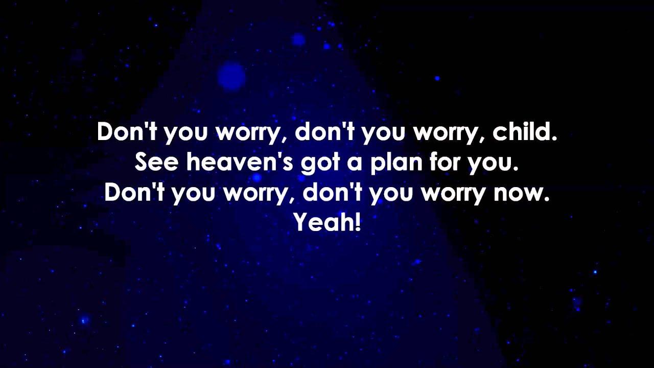 Swedish House Mafia Don T You Worry Child Lyrics Youtube