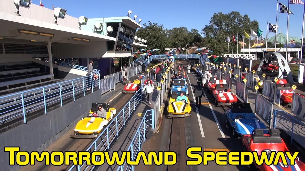 Tomorrowland Speedway FULL POV...