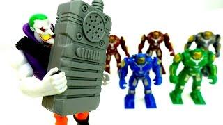 Джокер и обзор новых роботов. Игры для мальчиков