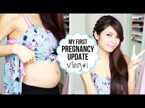 Pregnancy Vlog #1 ♥ Trouble Conceiving, Announcement & Baby Bump