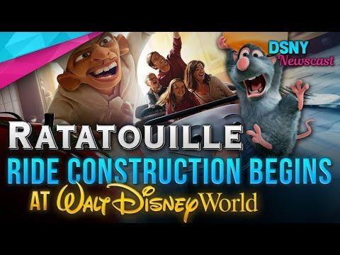 RATATOUILLE Ride Construction Begins at Walt Disney World - Disney News - 4/26/18