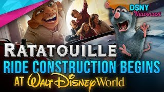 RATATOUILLE Ride Construction Begins at Walt Disney World - Disney News - 4/26/18