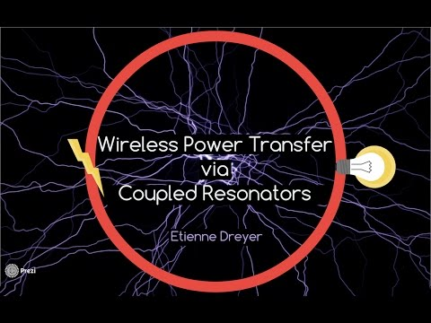 Wireless Power Transfer via Coupled Resonators
