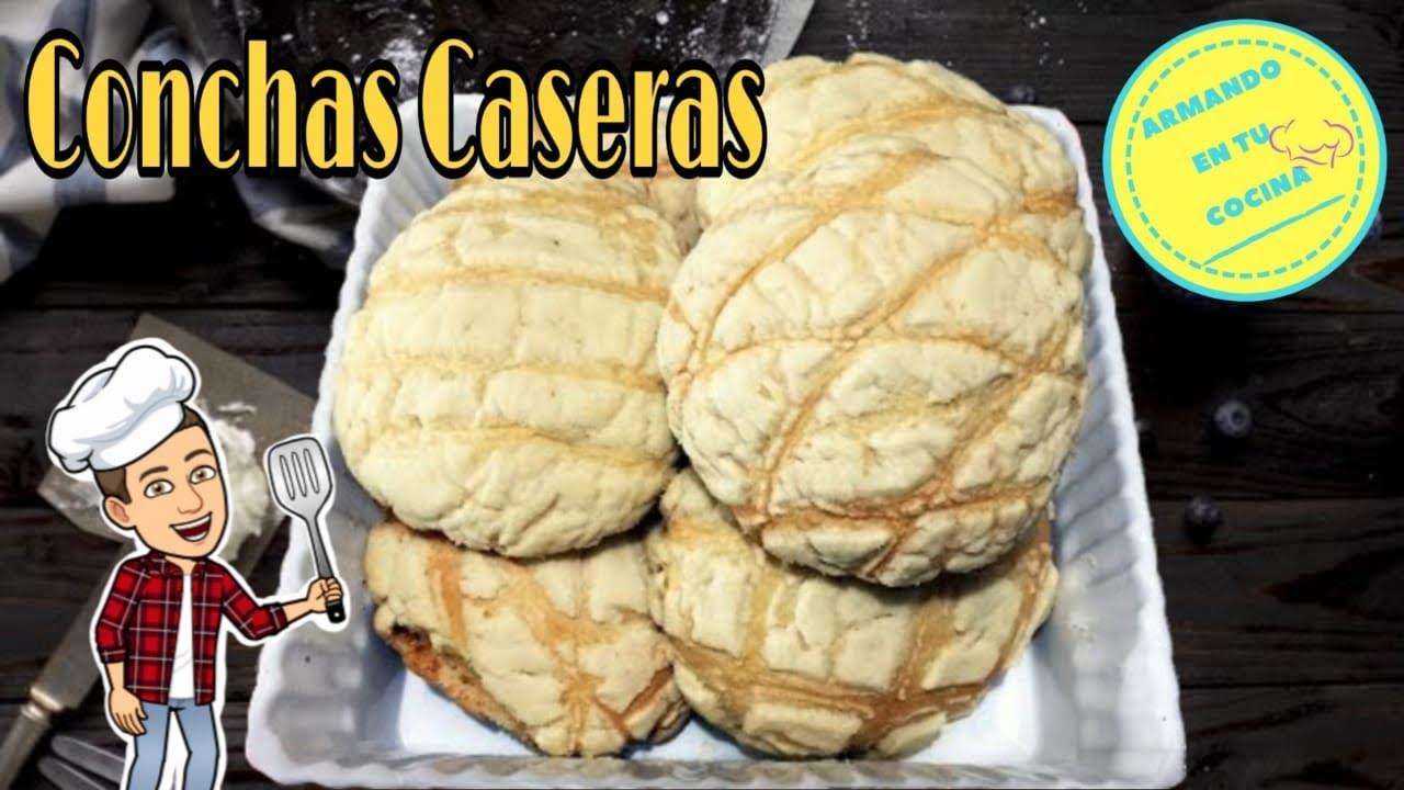 Como hacer conchas pan dulce youtube - Como hacer conchas finas ...