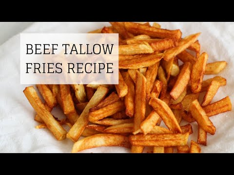 Beef Tallow Fries Recipe Healthy Delicious Bumblebee Apothecary Youtube