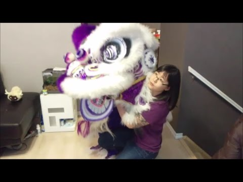 How to Hold the Lion Head and Blinking - Basics