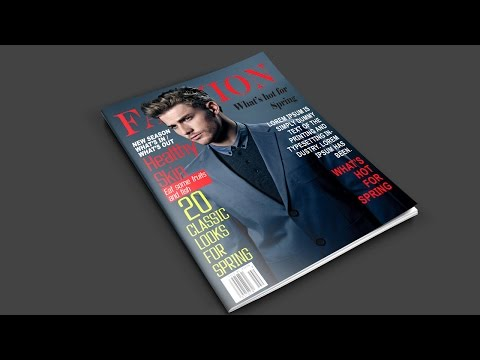 How to Create a Magazine Cover in Photoshop