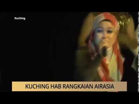 AWANI - Sarawak: Kuching hab rangkaian AirAsia
