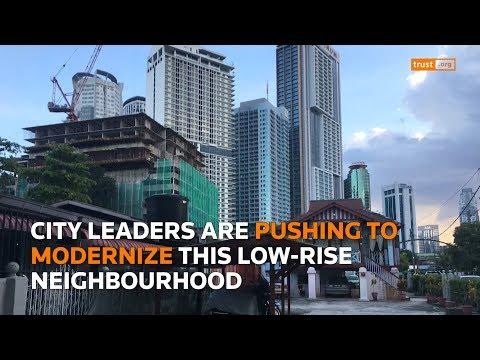 Skyscrapers threaten to swallow KL's last Malay village