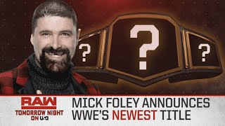 New WWE Title On Raw Tonight, AEW Rated TV-14 & More