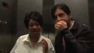 Josh Peck Weight Loss - Josh Peck freestyle with security guard