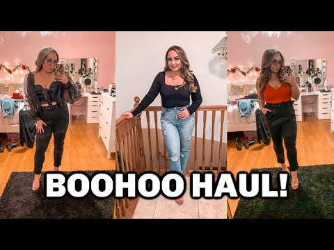 BOOHOO TRY ON HAUL | SIZE 10 MIDSIZE FASHION