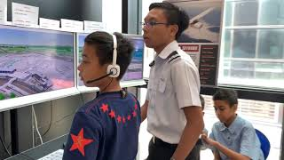 Children's Wishing Well, visits Aeroviation!