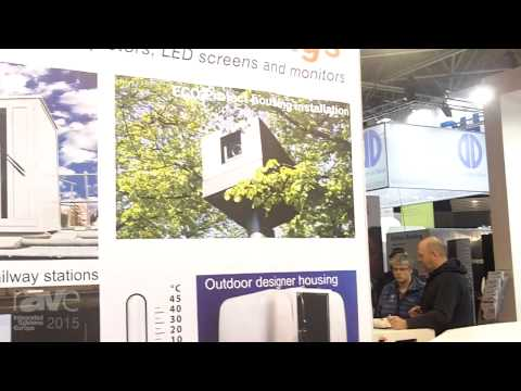 ISE 2015: Vicom Shows Off Their Products for Weatherproof Housing