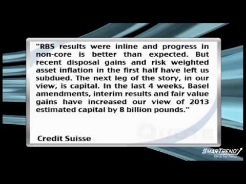 Credit Suisse Downgraded Royal Bank of Scotland To Neutral From Outperform
