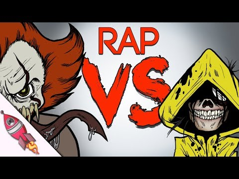 Little Nightmares vs IT Movie Rap Battle | Six vs Pennywise Song | Rockit Gaming
