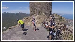 Argeles sur mer à vélo 2017 - Jour 1 - Collioure, col Mollo et tour de Madeloc