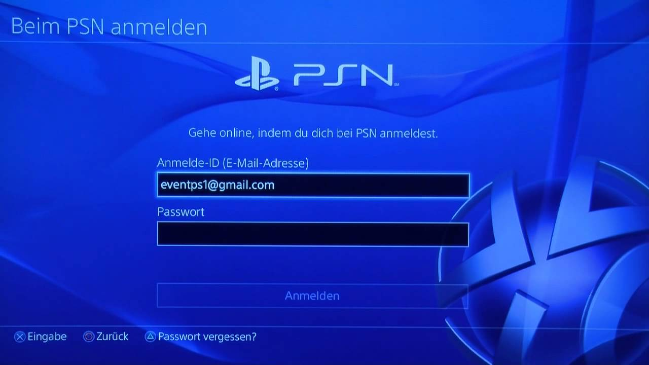 Sony PlayStation 4 - PlayStation Network Konto - YouTube