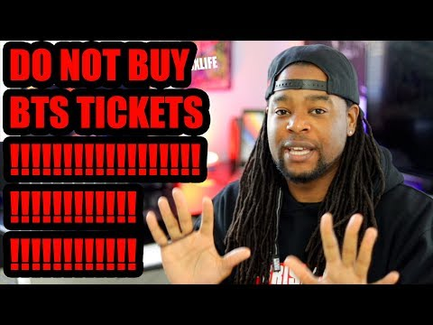 "DO NOT BUY BTS WORLD TOUR ""LOVE YOURSELF"" TICKETS!!!"