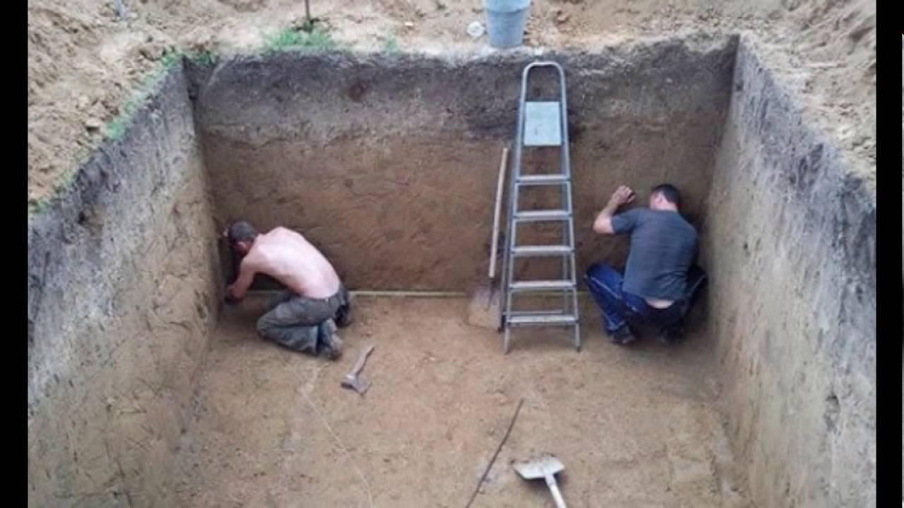 Как построить погреб своими руками