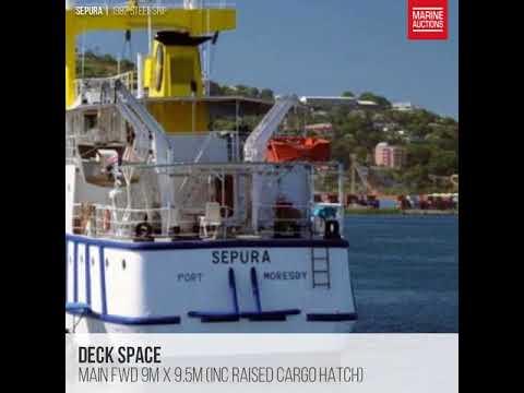 "1982 Steel Ship ""SEPURA"""