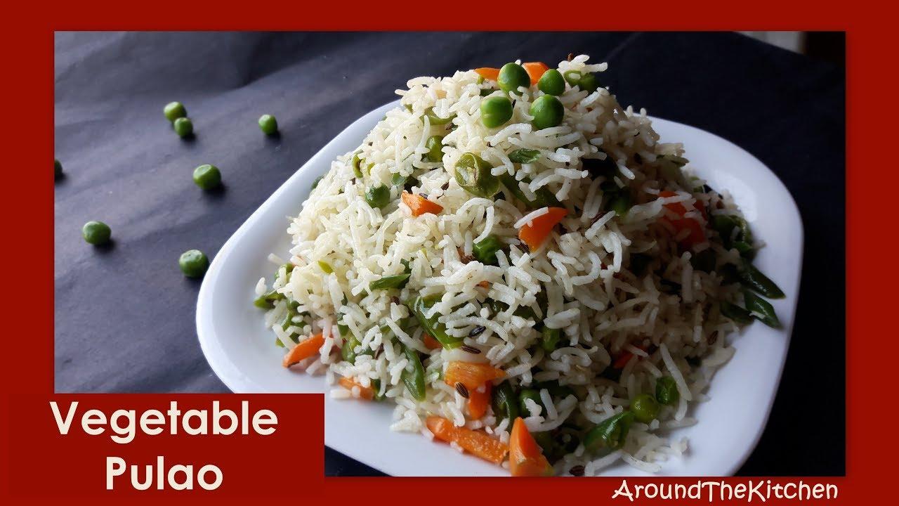Vegetable Pulao In Kannada