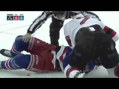 Eric Gryba vs Matt Beleskey Sep 24, 2018