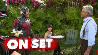 Marvel's Ant-Man: Full Behind the Scenes Movie Broll - Paul Rudd, Michael Douglas