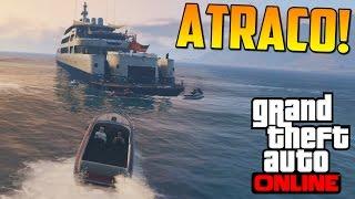 ¡¡ATRACO AL YATE!! - ATRACOS A BANCOS GTA V ONLINE PS4 - Financiación Inicial #1 - Heist