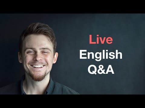 Live English Q&A: Word Differences and Coffee