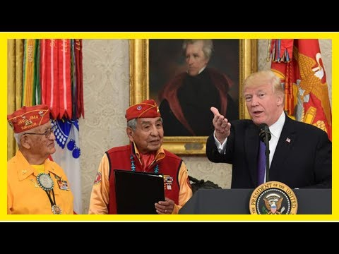 World News - Trumps respect for native Americans is nothing new