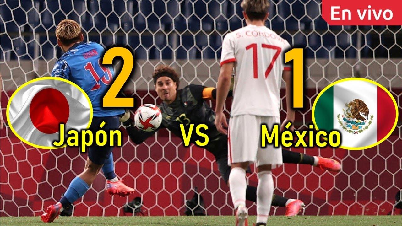 Japón Derrotó a México 2 - 1 en TOKIO 2020 - Juegos Olímpicos