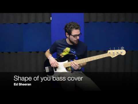 Ed Sheeran Shape of you bass cover