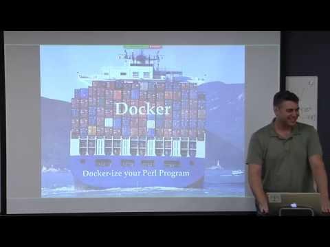 Docker-ize your Perl program