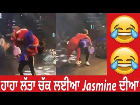 Garry ne live Show wich jasmine Chakki Modhyan Te, COOL TADKA
