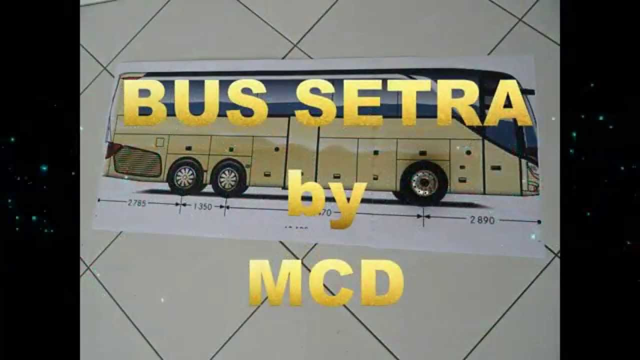 tuto Bus setra RC 1 14 by MCD1 - YouTube