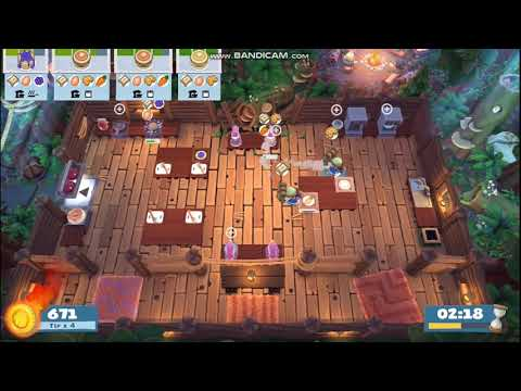 Overcooked! 2 - Campfire cook off 3-1, Solo score: 1471 |