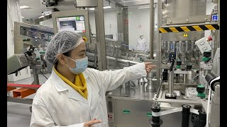 A glimpse of how vaccines are produced in Wuhan